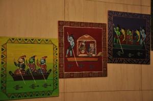 Panels of Jamini Roy representation